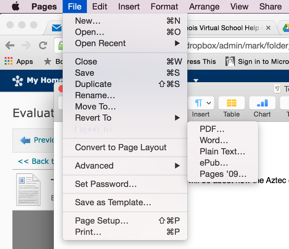 Import PDF to Pages on Mac